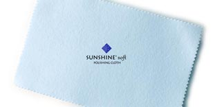 Blue Soft Polishing Cloths