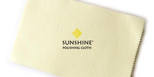 Yellow Silver Polishing Cloths