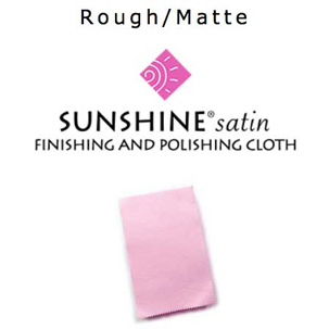 Pink Sunshine® satin Finishing & Polishing Cloth